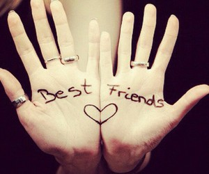 friend, cute, and love image