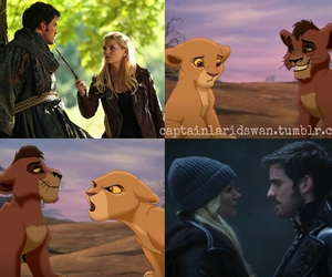 disney, once upon a time, and captain hook image