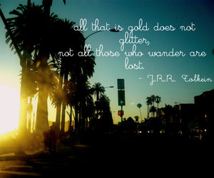 los angeles, lost, and quotes image