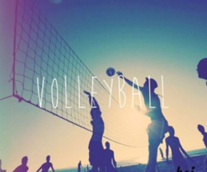 forever, my life, and volleyball image