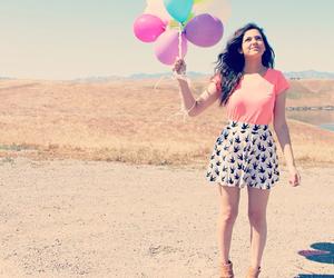 bethany mota, balloons, and macbarbie07 image
