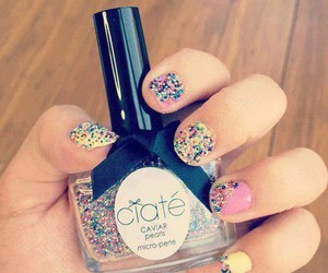 caviar, colors, and nails image