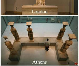 london, Greece, and Athens image