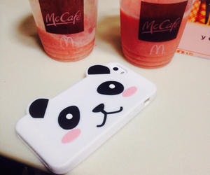 case, panda, and iphone image