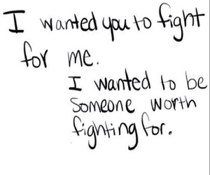 fight, love, and quote image