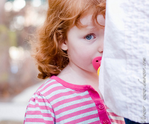 little girl, soo cute, and red hair image