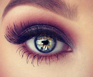 eyes, makeup, and eye image