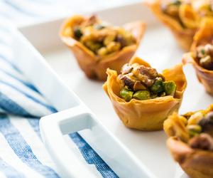 baklava, dessert, and nuts image