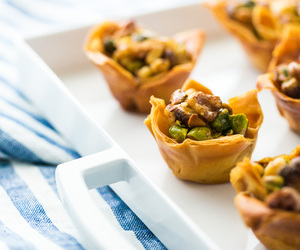 dessert, nuts, and baklava image