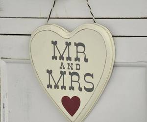decor, heart, and marriage image