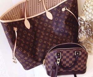 bag, luxury, and LV image