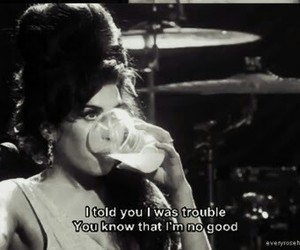 Amy Winehouse, drink, and good image
