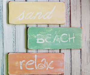 beach, happiness, and relax image