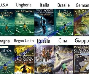 books, italy, and percy jackson image