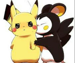 pikachu, kiss, and pokemon image