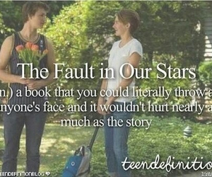 tfios, quote, and book image