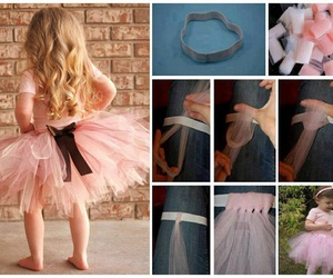 crafts, tutu dress, and diy image