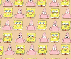 background, patrick, and wallpaper image