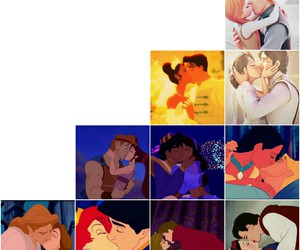 alladin, beauty and the beast, and hercules image