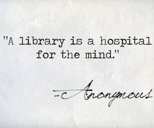 library, book, and mind image