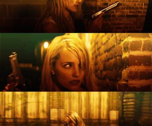 bad girl, blonde, and THE FAMILY image