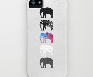 elephants, society6, and iphone image