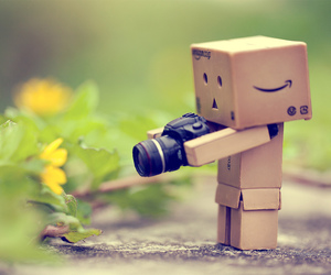 camera, danbo, and photography image