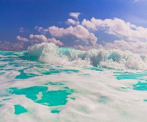 summer, sea, and blue image