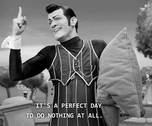funny, lazy town, and quote image
