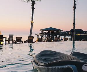 paradise and sunset image