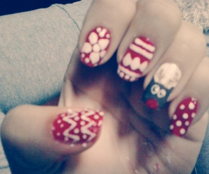 christmas, colours, and nails image