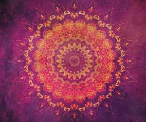 mandala, art, and pink image