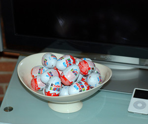 candy, kinder, and chocolate image