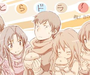anime, toradora, and friends image
