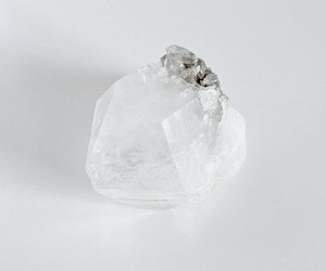 white, crystal, and pale image