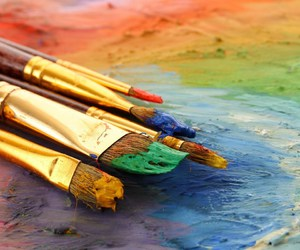 art and color image