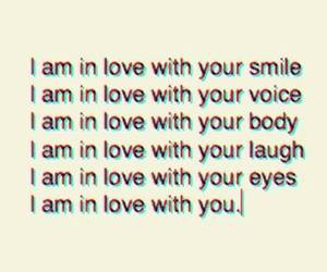 love, smile, and you image