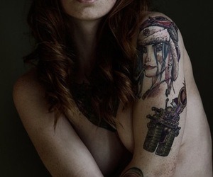 tattoo ideas, tattoos for girls, and arm tattoos image