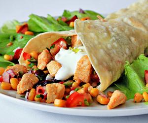 food, wrap, and yummy image