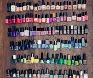 colors, nails, and paradise image
