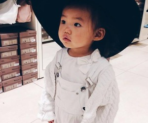 asian, baby, and outfit image