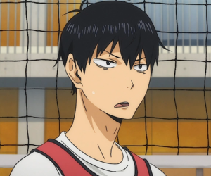 haikyuu, anime, and kageyama tobio image