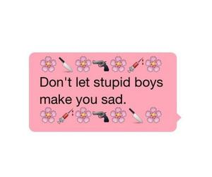 boy, quote, and stupid image