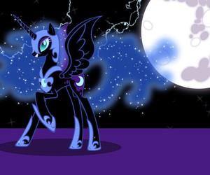 MLP, nightmare moon, and princess of night image