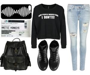 boots, bag, and fashion image