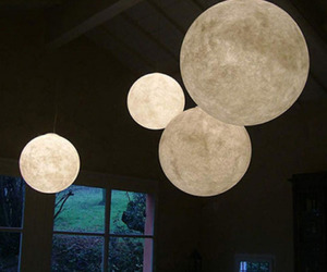 moon, lamp, and light image