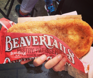 canadian, beaver tail, and best thing ever ! image