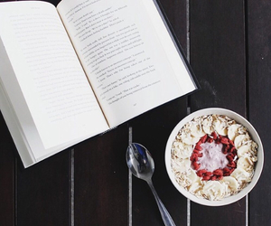 book, books, and food image