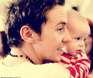 McFly, danny jones, and baby image