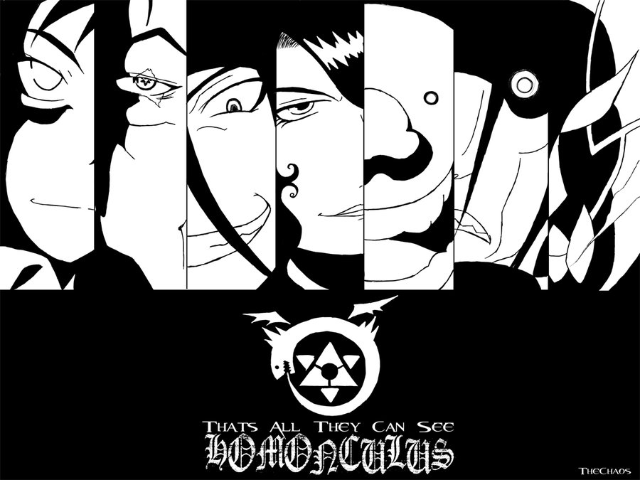 Fullmetal Alchemist Brotherhood Homunculus Uploaded By Claudia